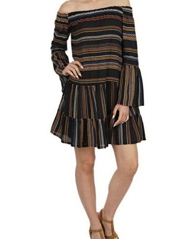 Kasia-Resort-Boho-Greek-Chic-Stripe-Embroidered-Off-Shoulder-Dress-Black-3.jpg