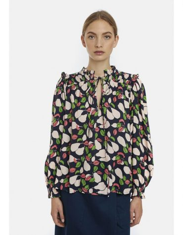 compania-fantastica-blouse-flower-print