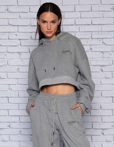 Bliss cropped hoody