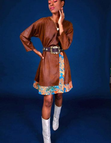 Nidodileda Dorian Mini Dress Brown