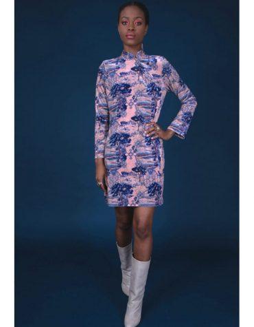 Nidodileda Elliot Top Dress Dusty Pink
