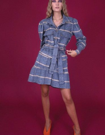 SISELY COAT DRESS-4