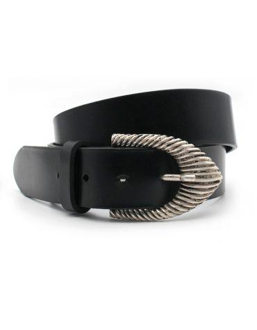 Giselle black leather 1