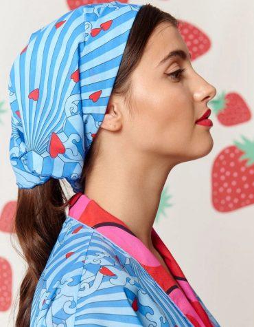 Karavan Asa Headscarf Blue Fans
