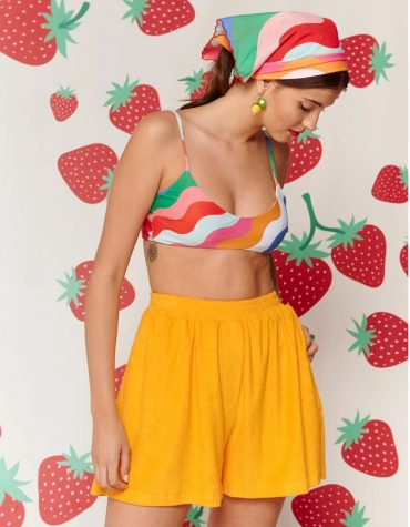 Karavan Duri Shorts Yellow