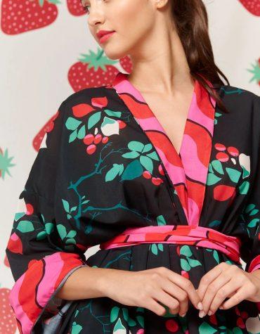 Karavan Fujita Kimono Black 3