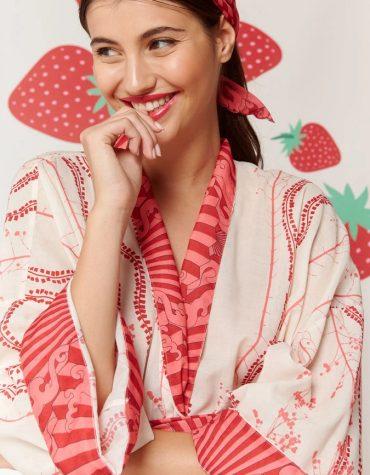Karavan Fujita Kimono Ivory 1