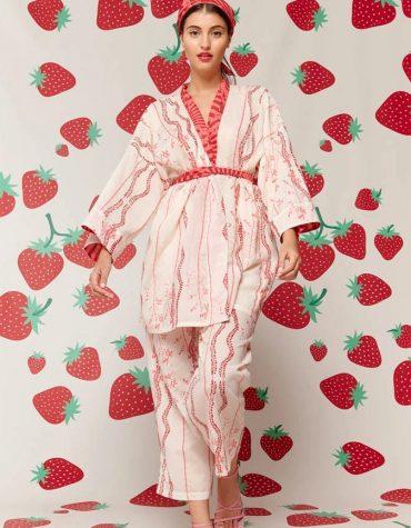 Karavan Fujita Kimono Ivory 2
