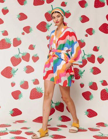 Karavan Fujita Kimono Multicolor 1