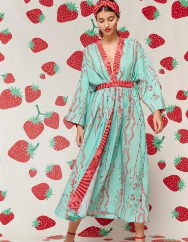 Karavan Kentaro Kimono Mint 1