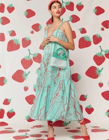 Karavan Kiyoshi Dress Mint 1