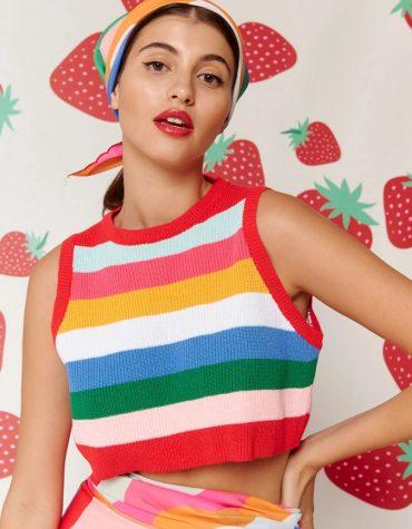 Karavan Nami Knitted Top Multicolor