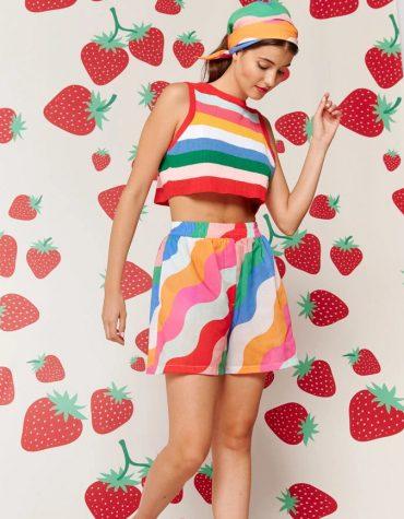 Karavan Nami Knitted Top Multicolor 6