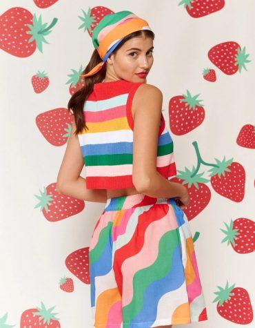 Karavan Nami Knitted Top Multicolor 7