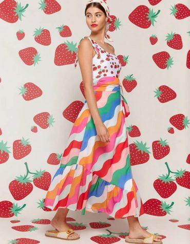 Karavan Ozuru Skirt Multicolor