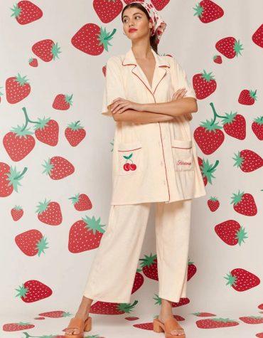 Karavan Sunyoung Kimono Ivory 1