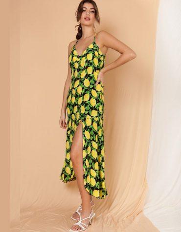 Sicilia Lemon Dress