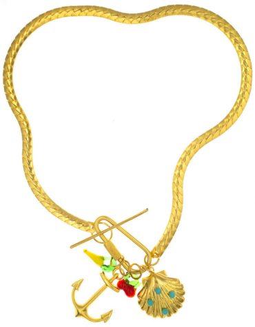 Kaleido Sea Love Necklace