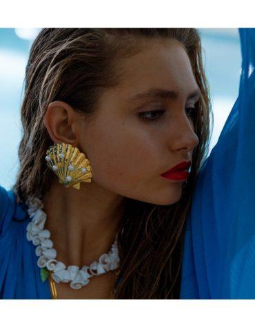 Kaleido Seashell Necklace 1