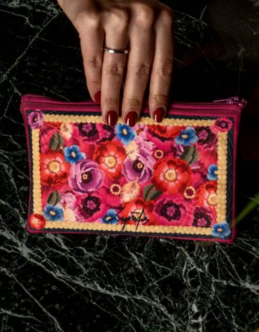 Zografos Wallet Karpathos Pink 18cm x 10cm 1