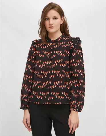 Compania Fantastica Toadstool Print Lightweight Shirt 4