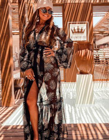 MYA Collection Faena Kimono Dress 4