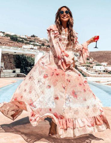 MYA Collection Messalina Kimono Dress 4