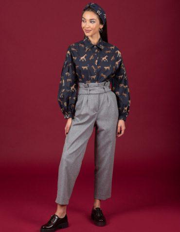 CHATON Fleur pants Grey 3