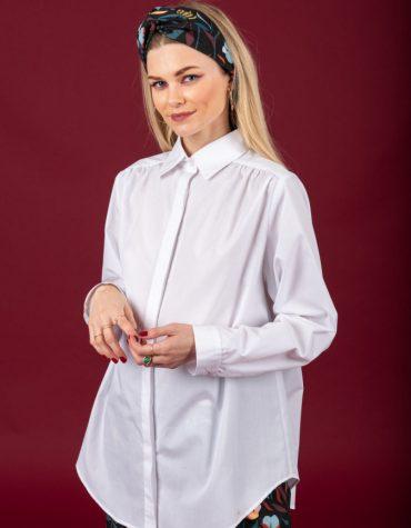 CHATON Heather shirt White