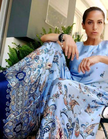 Dorina Savva Light Blue Jumpsuit 4