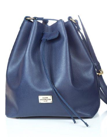 ELENA ATHANASIOU Pouch Bag Soft Blue