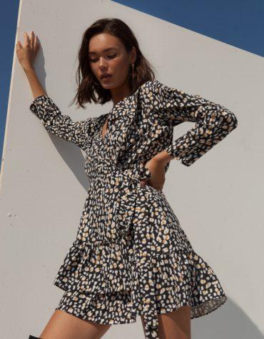 Mallory Daria Leopard Dress 3