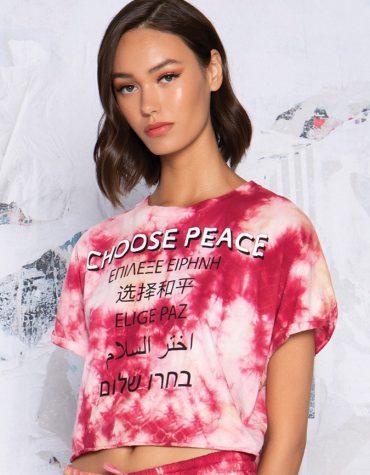 Peace and Chaos Choose Peace T Shirt