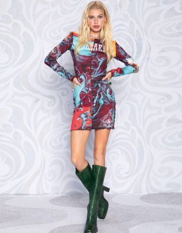 Peace and Chaos Infusion Dress