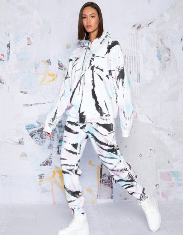 Peace and Chaos Paint Job Hoodie 3