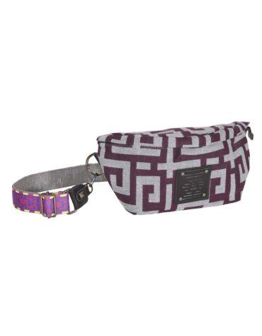 Ames Bags Ostrako Purple Grey 1