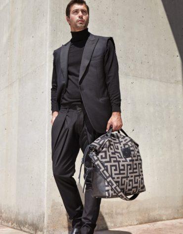 Ames Bags Tharos Pouro Black 2