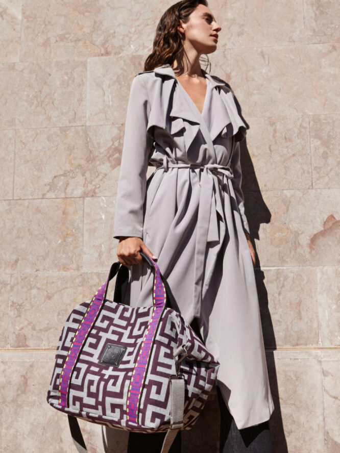 Ames Bags Theros Purple Grey 1