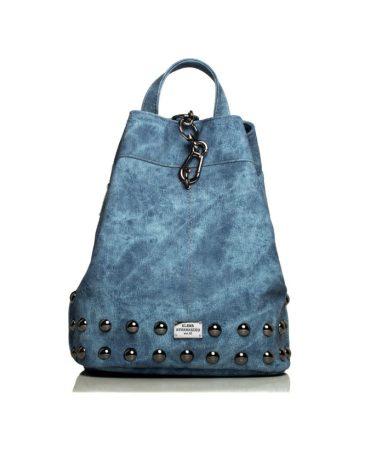 Backpack Jean Pattern Blue 4