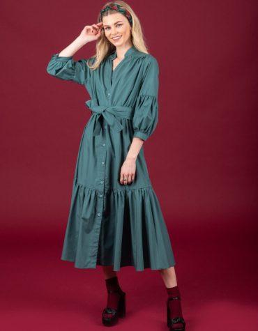 CHATON Amy dress Green 4