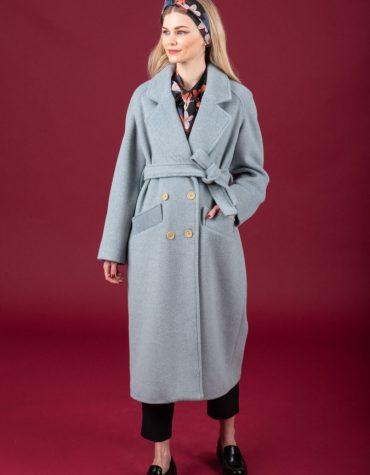 CHATON Winona coat Dusty Ciel 1