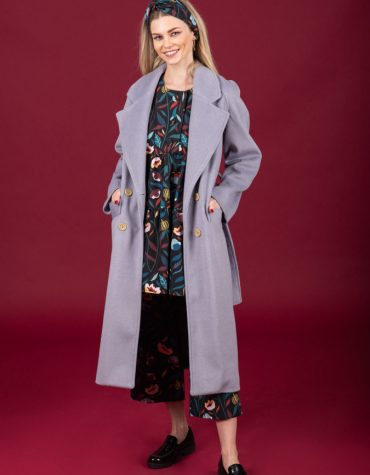 CHATON Winona coat Dusty Lilac