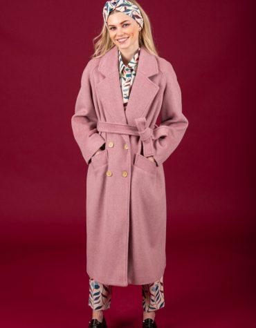 CHATON Winona coat Pink 4
