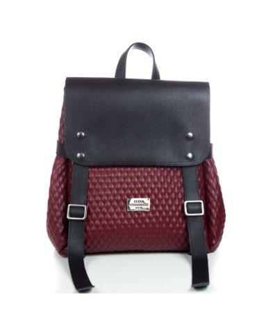 ELENA ATHANASIOU Backpack Burgundy Cap 3