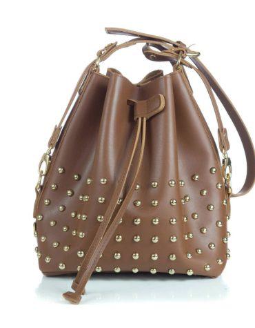 ELENA ATHANASIOU Pouch Bag Chocolate 2