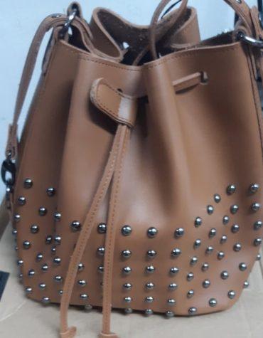 ELENA ATHANASIOU Pouch Bag Chocolate 3