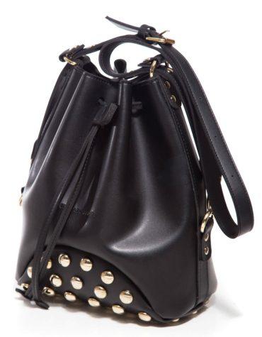 ELENA ATHANASIOU Pouch Bag Fresh Black Golden Troucs 1