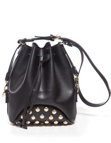 ELENA ATHANASIOU Pouch Bag Fresh Black Golden Troucs 4