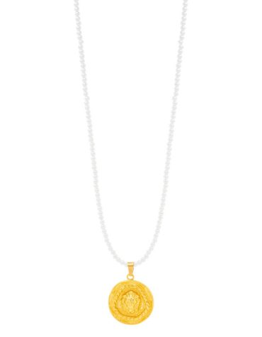 Kaleido Heart Of A Lion Necklace