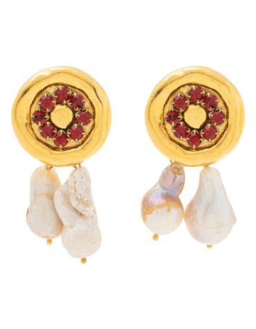 Kaleido La Falsa Moneda Earrings